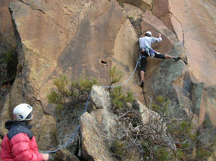 Rock Climbing Bariloche Patagonia