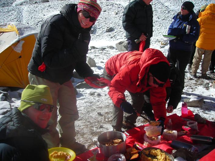 Lunch at 550 Aconcagua Mendoza Argentina