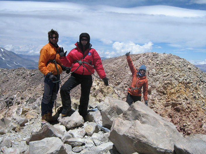 Summit Ojos del Salado Atacama