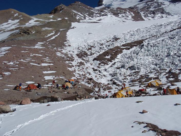 Camp 2 Aconcagua Mendoza Argentina