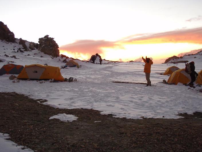 Camp Aconcagua Mendoza Argentina