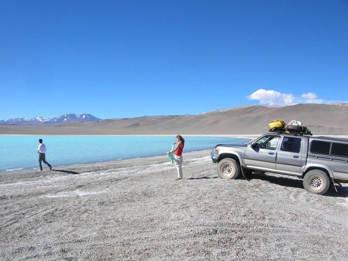 Laguna Celeste Pissis Atacama