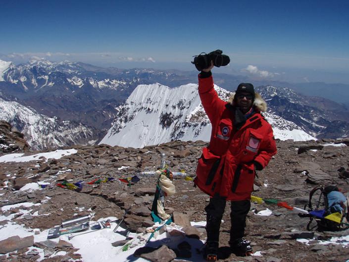 Aconcagua's Summit Aconcagua Mendoza Argentina