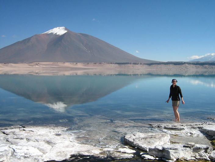 Laguna Verde Chile Atacama