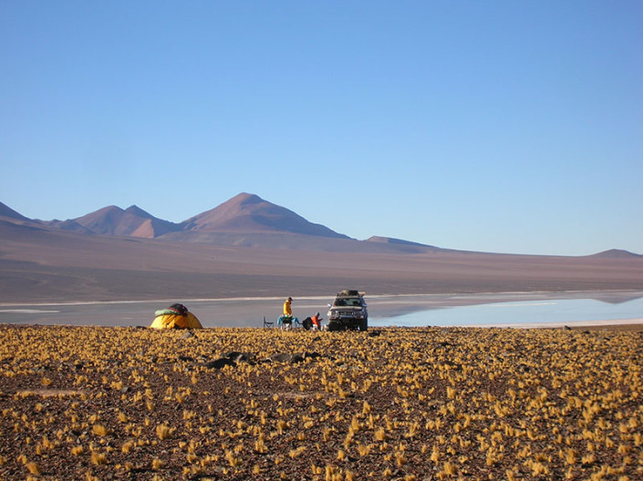 Drive to Cortaderas Atacama