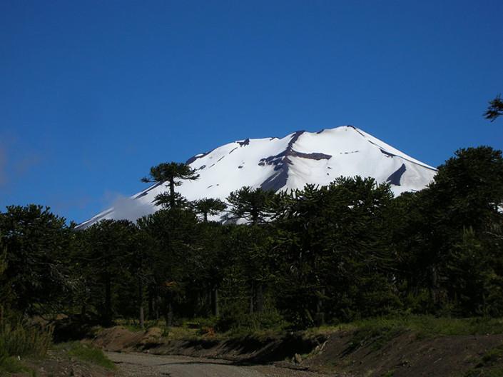 Llaima volcano Chile Patagonia
