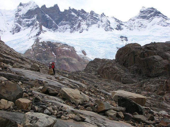 Paso Marconi Chalten Patagonia