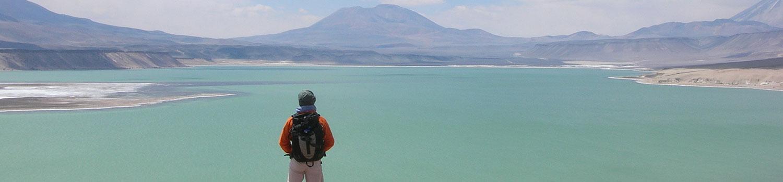 Ojos Del Salado Laguna verde Atacama