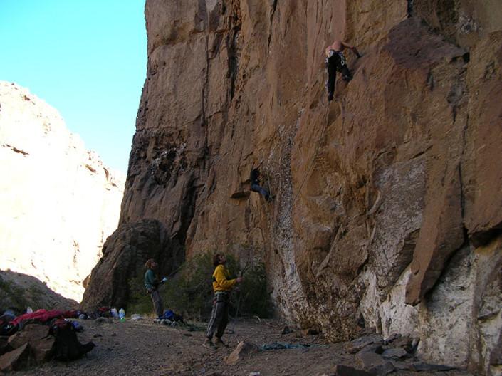 Rock Climbing Piedra Parada