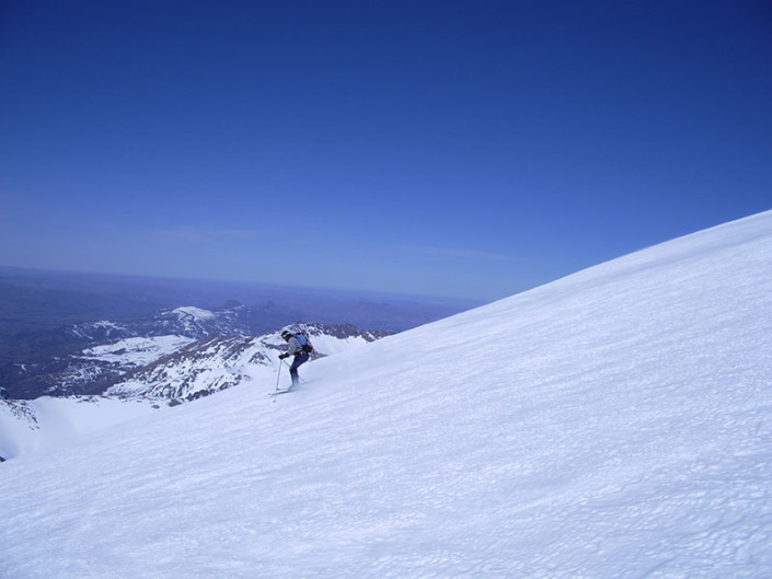 Ski Touring Patagonia Lanin