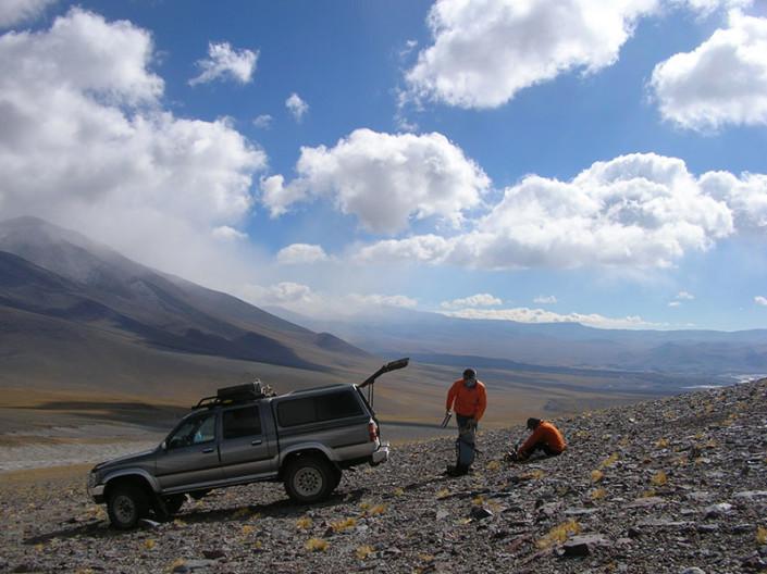 Driving to El Arenal Atacama