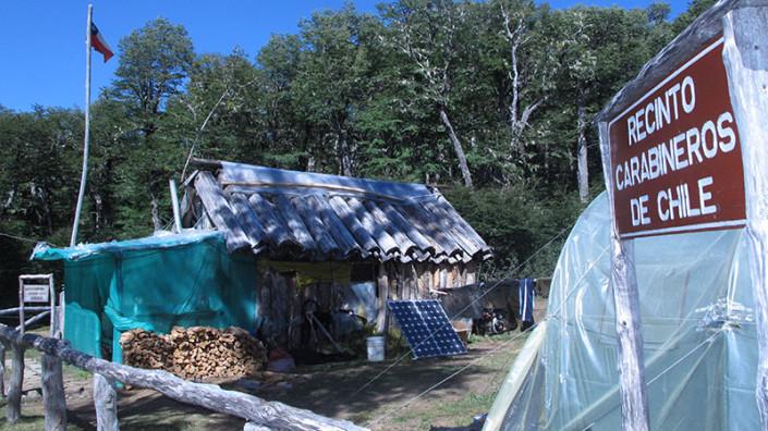 Cruce a Chile Paso Vuriloche Patagonia