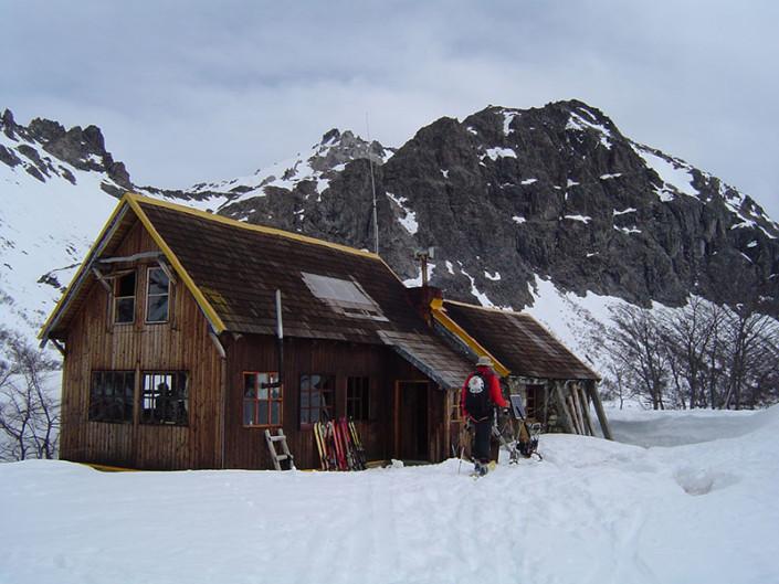 Ski Touring Patagonia Jackob Hut