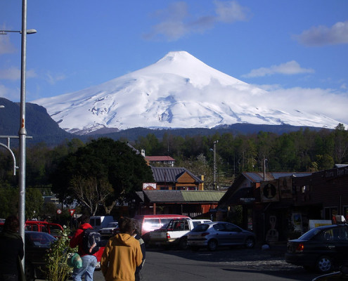 Villarica Patagonia Chile