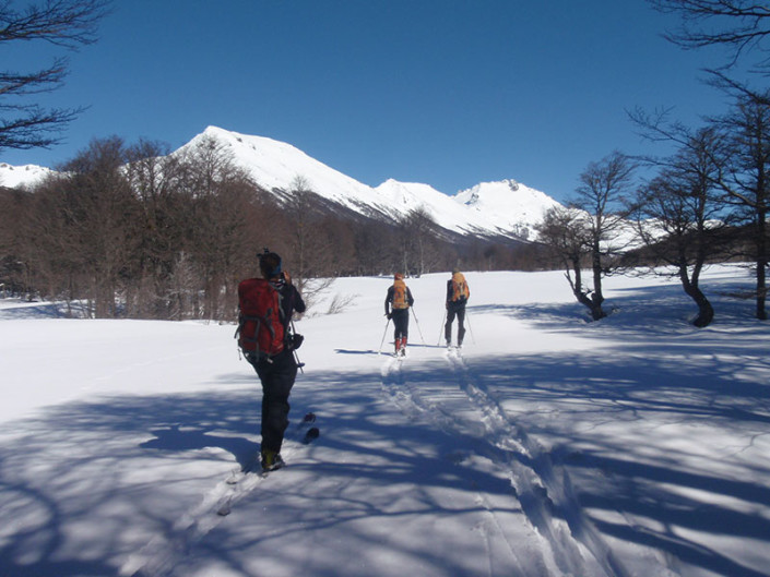 Ski Touring Patagonia