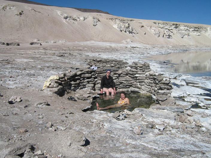 Natural Hot Springs Atacama