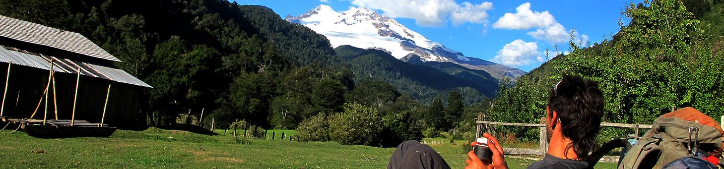 Andes Crossing Tronador Patagonia