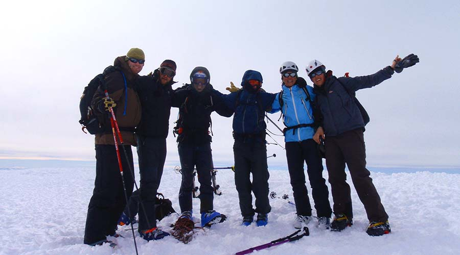 Chall Huaco Ski Touring Bariloche Patagonia